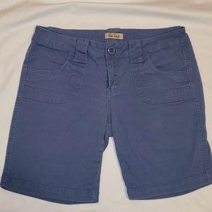 BeBop blue shorts size 9